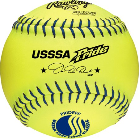 Rawlings USSSA 12 inch Leather Softballs