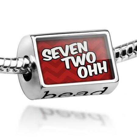 Bead 720 Denver  Co Red Charm Fits All European Bracelets