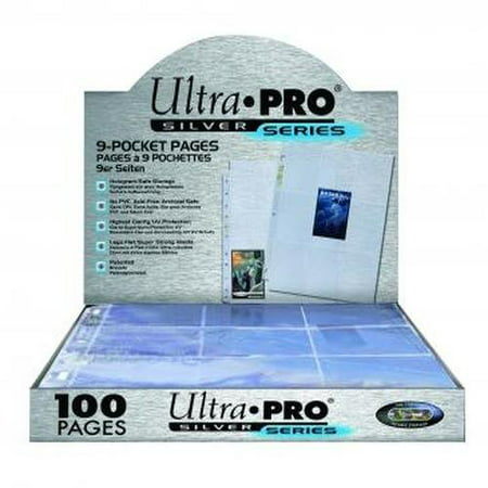 Ultra Pro Album (ULTRA PRO 100CT 9-PKT SILVER SERIES STANDARD PAGES )