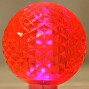 Christmas at Winterland G50-RETRO-PI Pack of (10) Pink G50 E17 Base LED Replacem