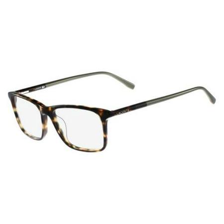 318035c8f9f2 LACOSTE Eyeglasses L2752 218 Light Havana 53MM - Walmart.com