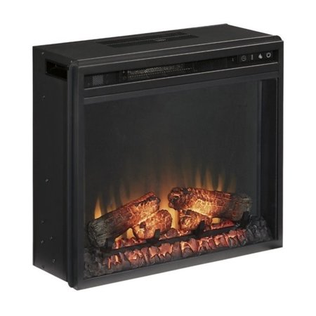 Bowery Hill Fireplace Insert in Black ()