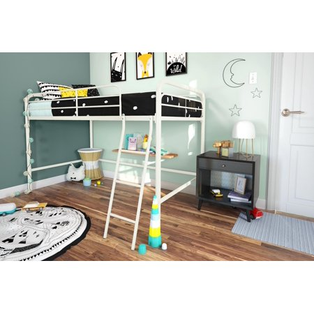 DHP Junior Loft Bed, Twin, Multiple Colors
