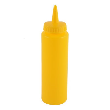 Kitchen Plastic Jam Vinegar Ketchup Oil Squeeze Bottle Dispenser 227ml