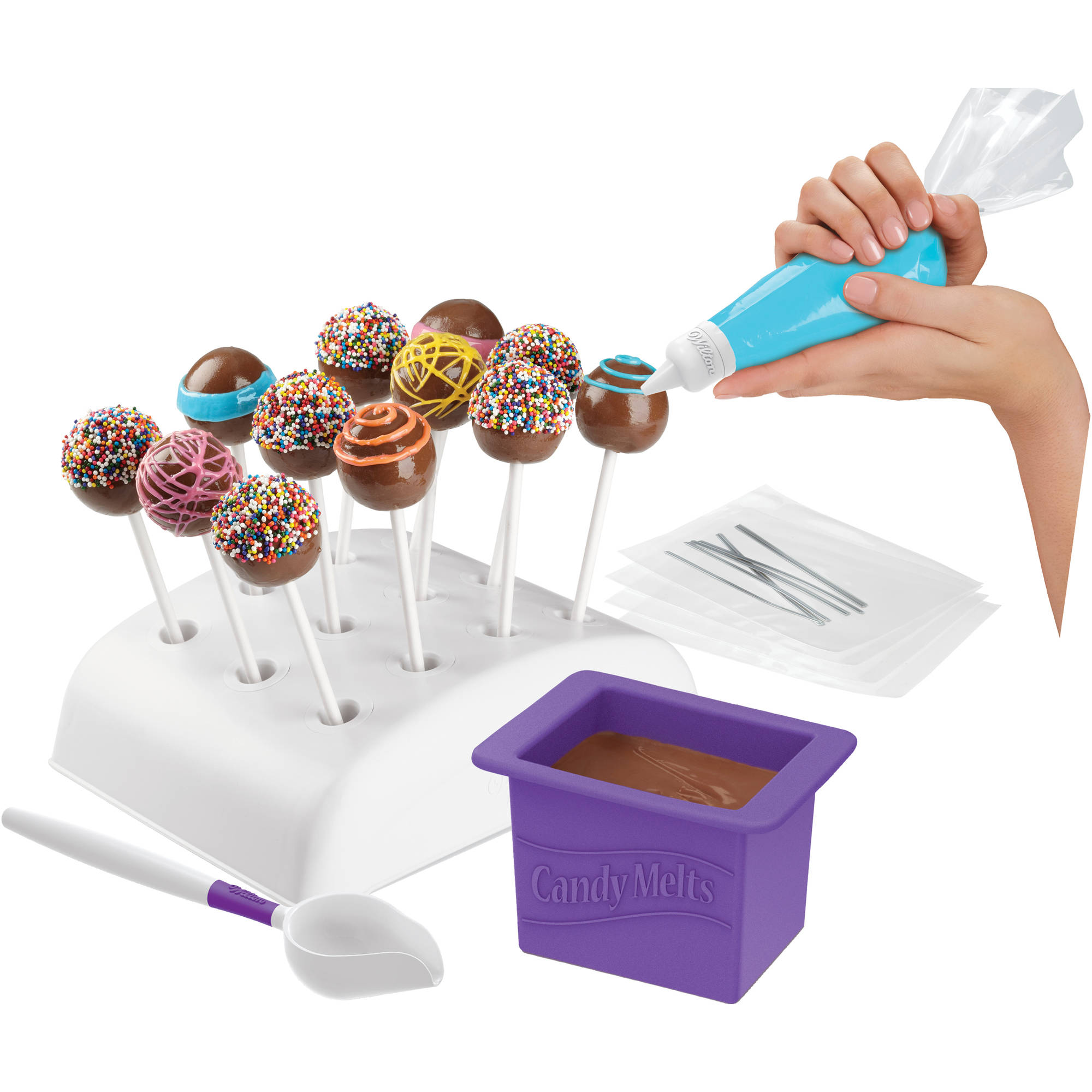 Wilton Candy Melts Dip 'N Decorate Decorating Essentials Set
