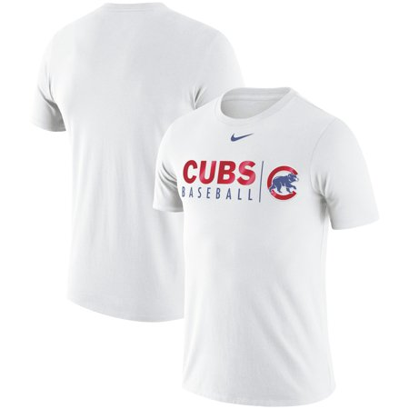 Chicago Cubs Nike MLB Practice T-Shirt - -
