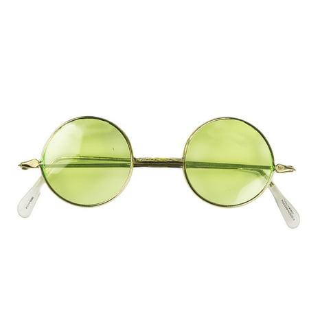 Tinted Round Sunglasses (Rose Tinted Round Sunglasses)