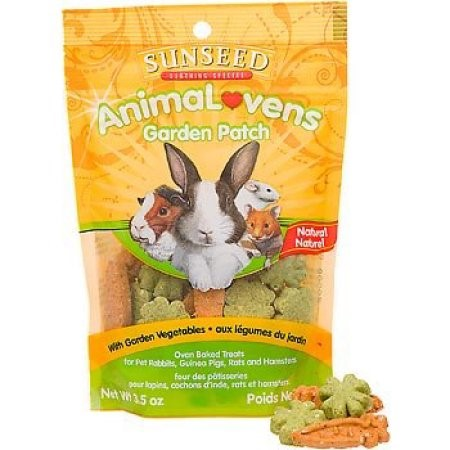 Sunseed AnimaLovens Garden Patch Dry Small Animal Treat, 3.5 Oz