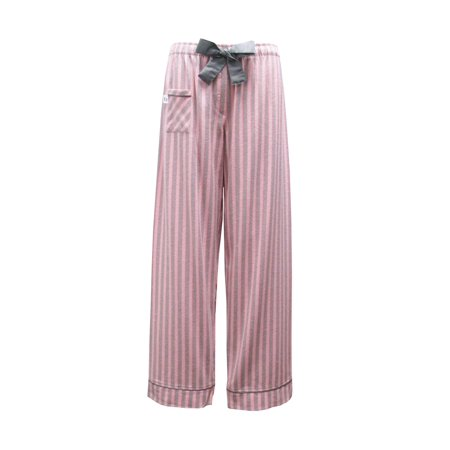 Boxercraft Women's Cotton Flannel Striped Sleep Pants