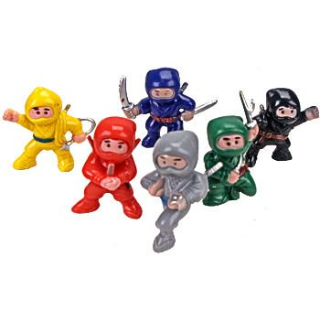 Ninja Figure (12-pack) - Party Supplies