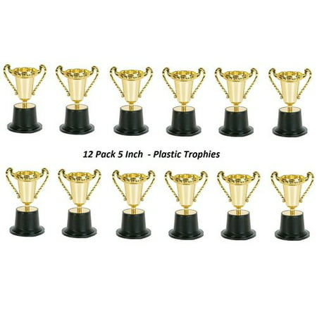 Kidsco Plastic Trophy (Set of 12) - Superhero Trophy