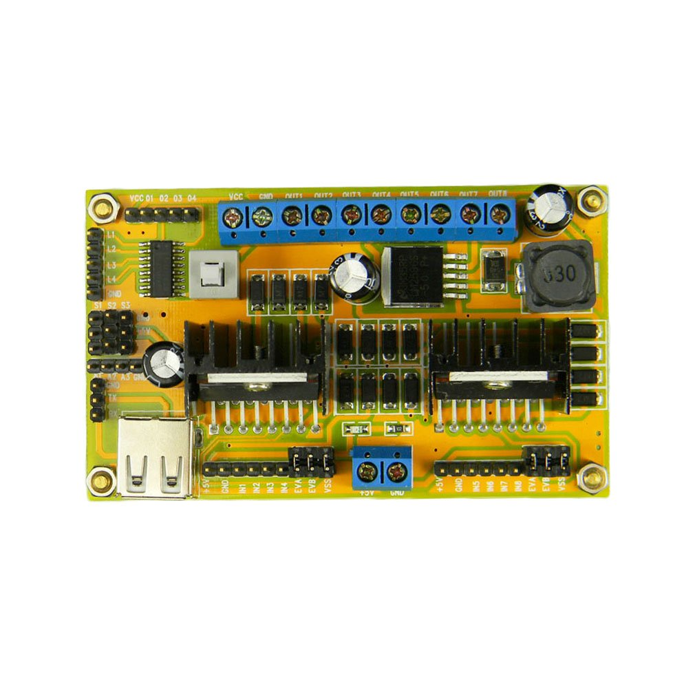 L298n H Bridge 4 Phase Dc Stepper Motor Drive Controller Power Board L298 Circuit Diagram Module