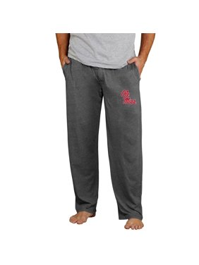 Ole Miss Rebels Concepts Sport Quest Knit Pants - Charcoal