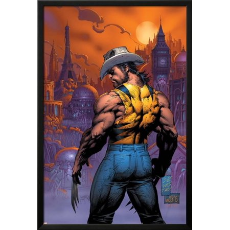 New X-Men No.151 Cover: Logan Lamina Framed Poster Wall Art  By Marc Silvestri - 26x38