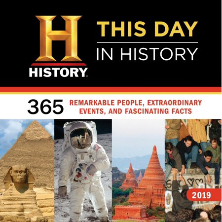 2019 History Channel This Day in History Wall Calendar (History Of Halloween For Kids History Channel)