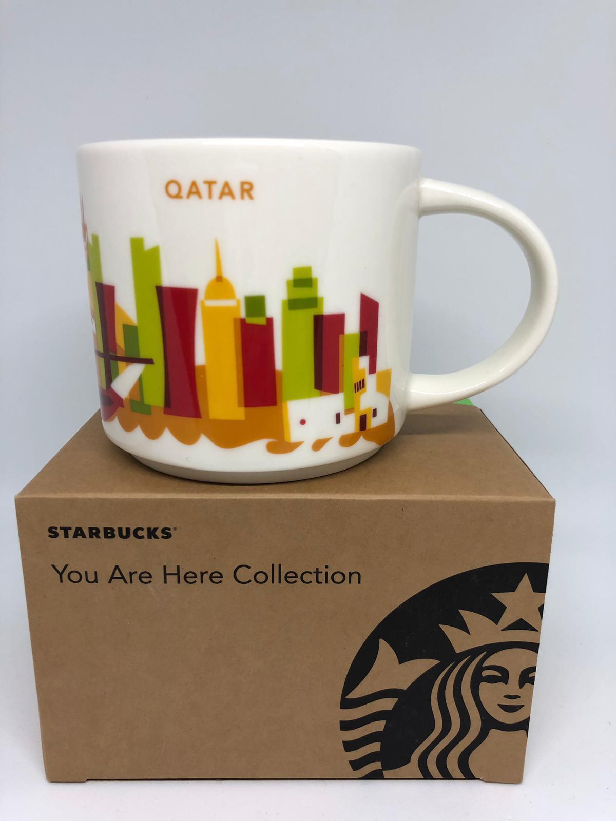 Starbucks You Are Here Collection Qatar Ceramic Coffee Mug New With Box Walmart Com Walmart Com