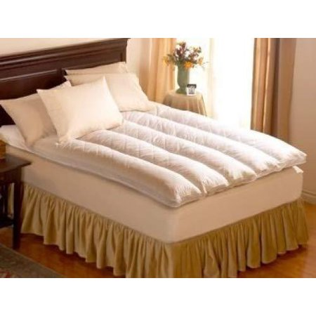 Pacific Coast Baffle Channel Euro Rest Feather Bed-Featured in Many Ritz-Carlton Hotels (Twin 39