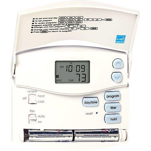 hunter fan company 44110 5 2 day program thermostat digital rh walmart com Hunter Indiglo Thermostat 44250A Manual Hunter 44550 Thermostat Owner Manual S