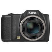 Jk Imaging FZ201 Black 16Digital Camera with 20x Optical Image Stabilized Zoom with 3.0-Inch LCD (Black) FZ201-BK