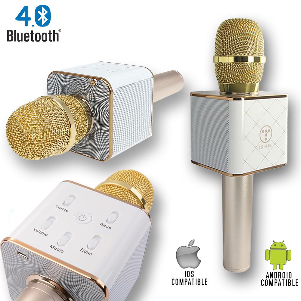 Indigi Portable Bluetooth 4.0 Microphone + Built-In Speakers (Karaoke Microphone) by Indigi