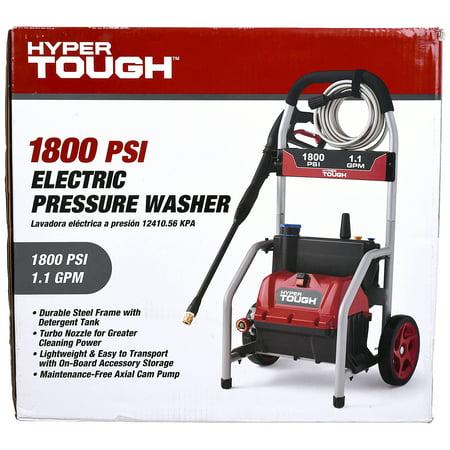 Hyper Tough 1800 PSI Electric Pressure Washer