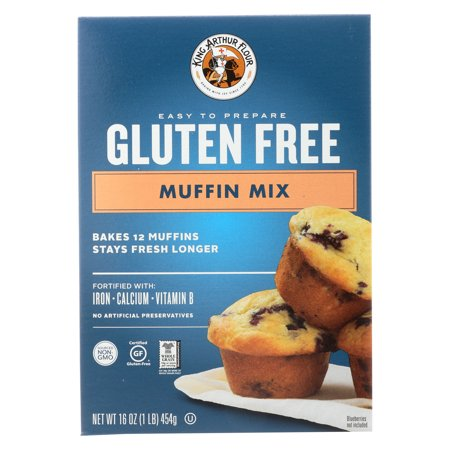 King Arthur Flour Gluten Free Muffin Mix 16 oz. Box