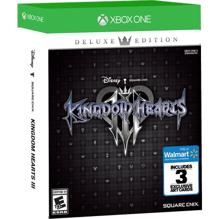 Walmart Exclusive: Kingdom Hearts 3 Deluxe Edition, Square Enix, Xbox One, 662248921938