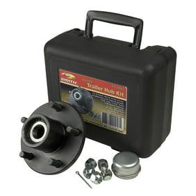 22016K LIBRA Set of 2 Trailer Idler Hub Kits 5 on 4.5 for 2000 lbs Axle 1-1//16 Bearings