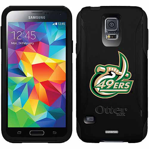 North Carolina Charlotte 49ers Design on OtterBox Commuter Series Case for Samsung Galaxy S5