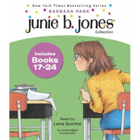 Junie B  Jones Collection  Books 17 24  Graduation Girl  First Grader  At Last    Boss Of Lunch  Toothle Ss Wonder  Cheater Pants  One Man Band  Shipwrecked  Boo   And