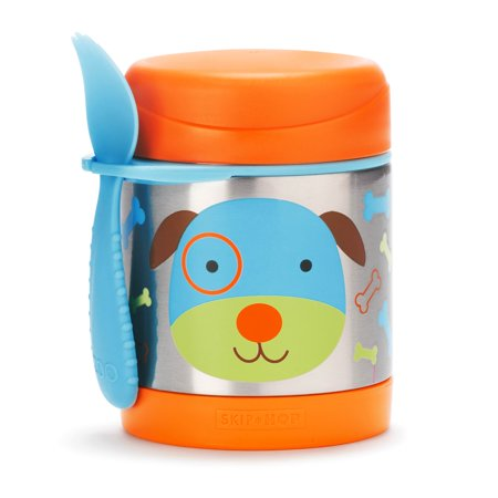 Skip Hop Zoo Insulated Food Jar, Dog](Sock Hop Food Ideas)
