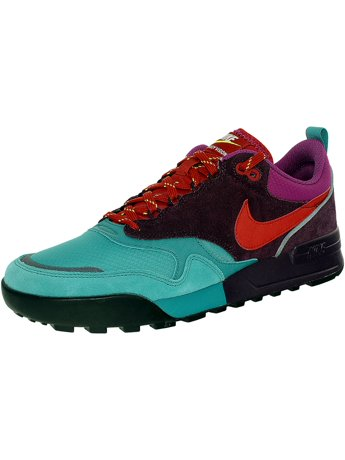 Nike Men's Air Odyssey Envision Qs Catalina/Brickhouse/Aubergine Ankle-High  Leather Running Shoe - 12M