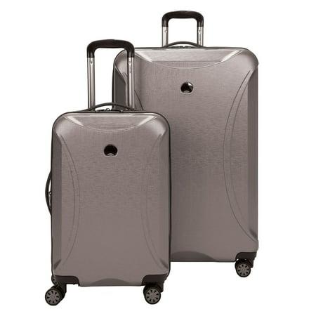 delsey ez lite 2 piece luggage set silver. Black Bedroom Furniture Sets. Home Design Ideas