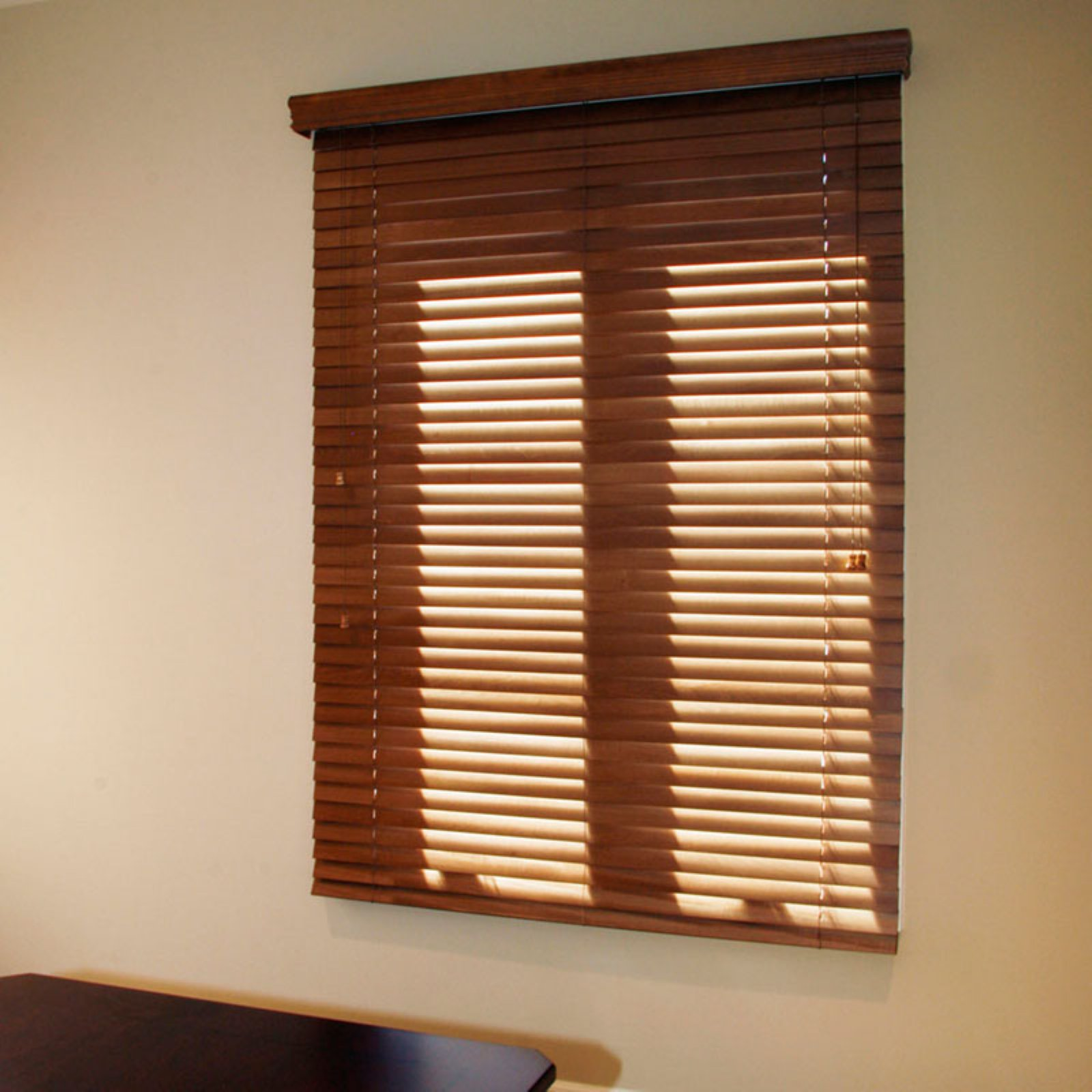 Chicology Blaze Faux Wood Blind