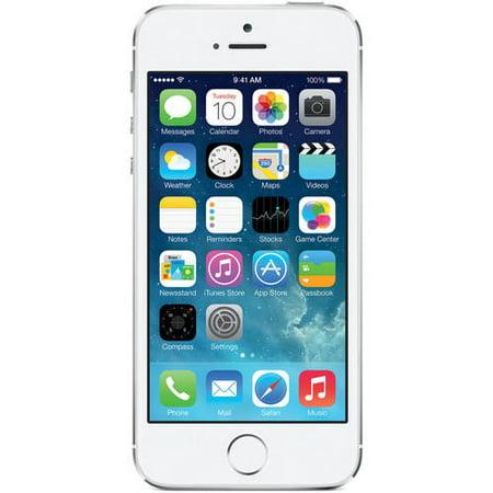 Straight Talk Apple iPhone 5S 16GB 4G LTE Prepaid Smartphone by