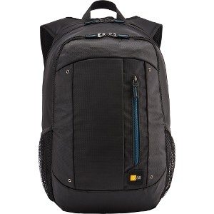 "Case Logic Jaunt WMBP-115 Carrying Case (Backpack) for 16"" Notebook - Blue - Polyester - Shoulder Strap"