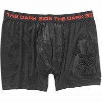 Star Wars Men's Boxer Briefs Men's Underwear by Mad Engine (X-Large, Black/Red - Dark Side)