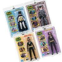 Batman Classic 1966 TV Series Action Figures Series 6: Set of all 4