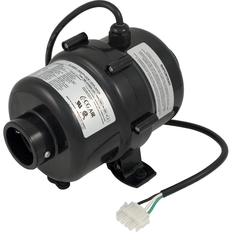 Blower, CG Air Millenium, Var-Spd, 230v, 4.0A, 3ft AMP Cord