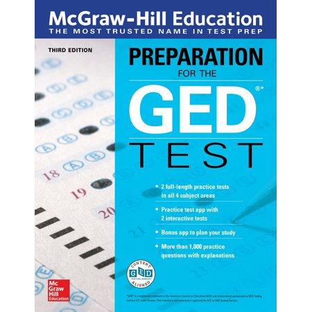 McGraw-Hill Education Preparation for the GED Test, Third