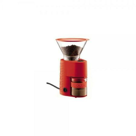 Bodum Bistro Electric Coffee Grinder Red 10903 294
