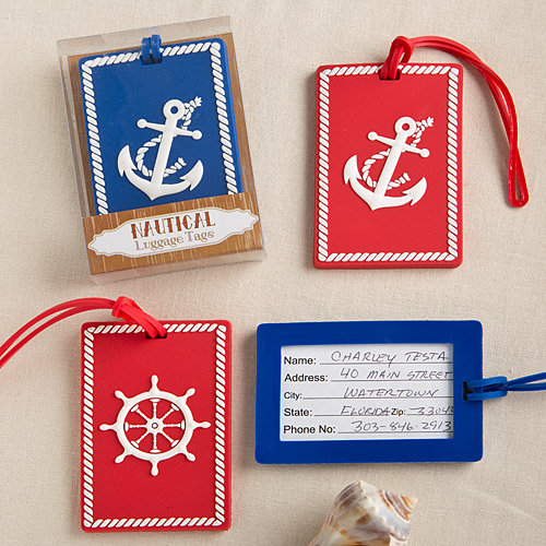 Fashioncraft Fashioncraft Nautical Luggage Tags