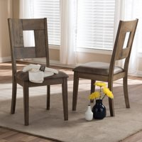 Baxton Studio Gillian Upholstered Dining Chair - Set of 2