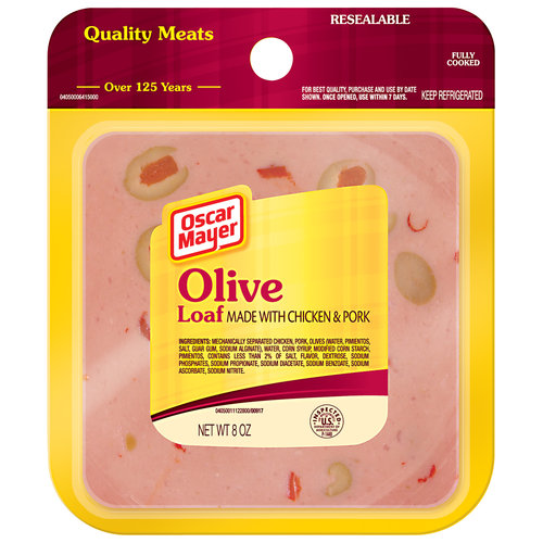 Oscar Mayer Olive Loaf, 8 oz