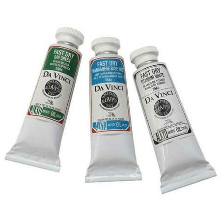 Da Vinci Paints - Fast Dry Alkyd Oil Color - 40.6ml Tube - Flake White ()