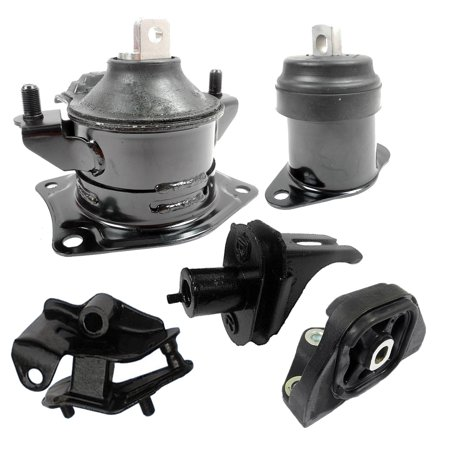 For 06-08 Acura TSX 2.4L FWD 4591 4517 4516 4509 4593 Engine Motor & Transmission Mount Set 5PCS 06 07 08 (Acura Legend Transmission Mount)