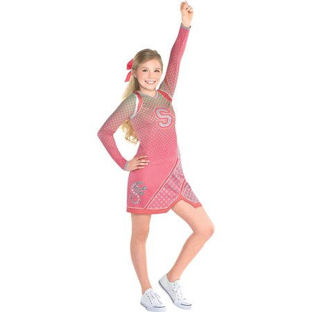Costumes USA Z-O-M-B-I-E-S Addison Costume for Girls, Includes a Shirt, a Skirt, and a Matching Hairbow (Matching Costumes)