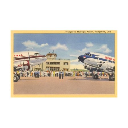Youngstown Municipal Airport Print Wall Art
