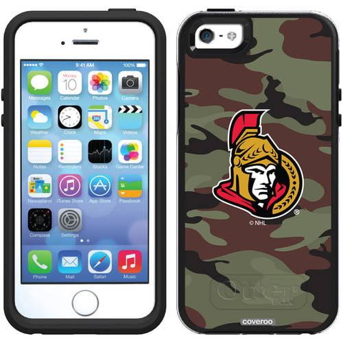 Ottawa Senators Traditional Camo Design on OtterBox Symmetry Series Case for Apple iPhone 5/5s