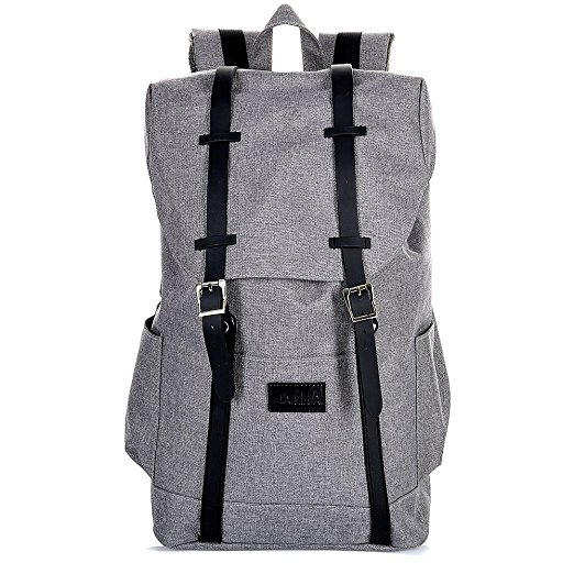 DANHA Grey Backpack Diaper Bag